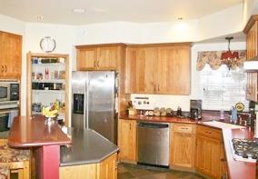 Seward Rentals - Interior Kitchen