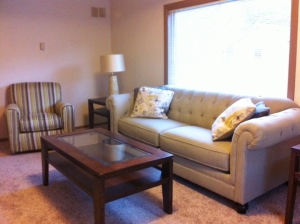 Seward Rentals - Interior Lounge Room